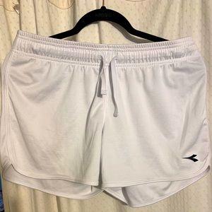 Diadora women's athletic shorts.